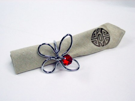 Butterfly Shape Napkin Ring