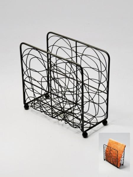 Brown Wire Napkin Holder