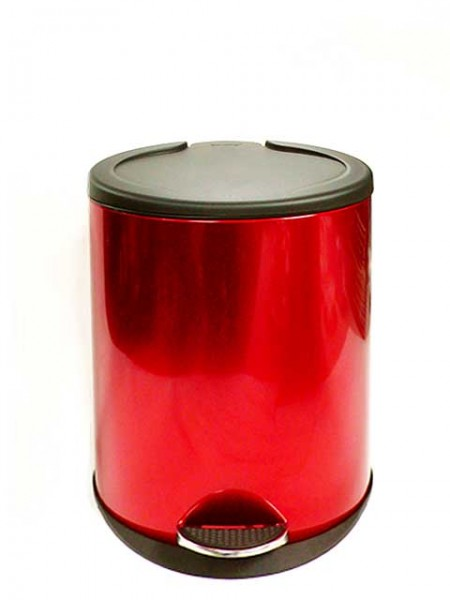Red Pedal Bin