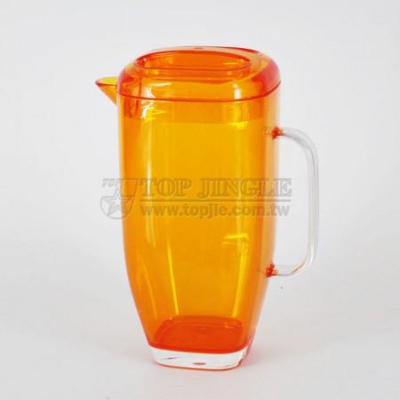 Orange Acrylic Water Pitcher