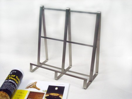 Unique Square Flat Wire Recipe Stand