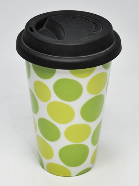 Circle Pattern Reusable Cup