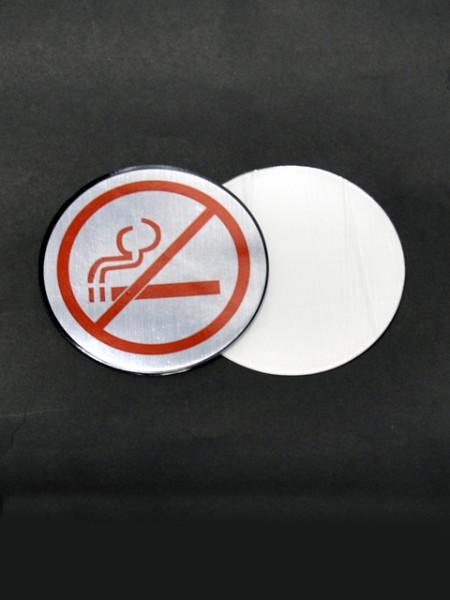 Плакат с запрещенным рисунком курения