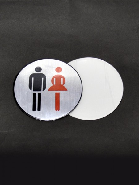 All Gender Toilet Placard