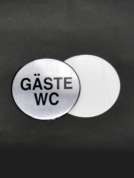 Табличка для туалета Gäste