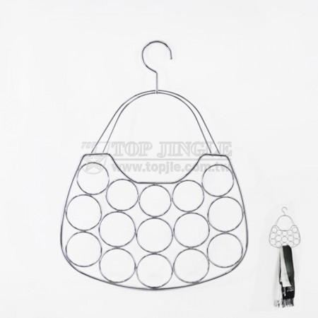 Handbag Shape Scarf Holder