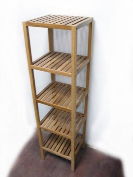 Bamboo 5-Tier Shelf