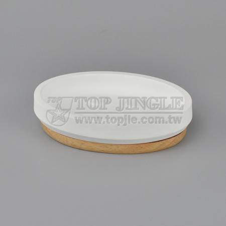Solid Wood Soap Dish