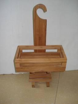 Бамбуковая стойка с вешалкой