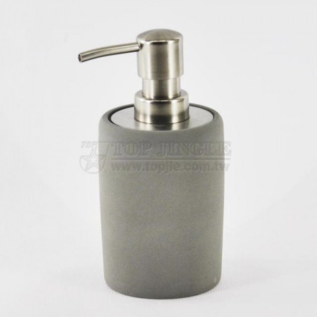 Cylinder Cement Soap Dispenser