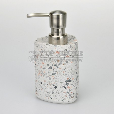 Colorful Stone Soap Dispenser