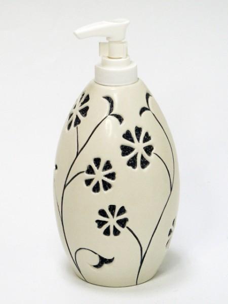 Oyma Çiçek Sabunu Dispenseri