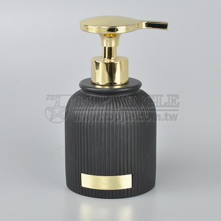 Straight Stripes Soap Dispenser