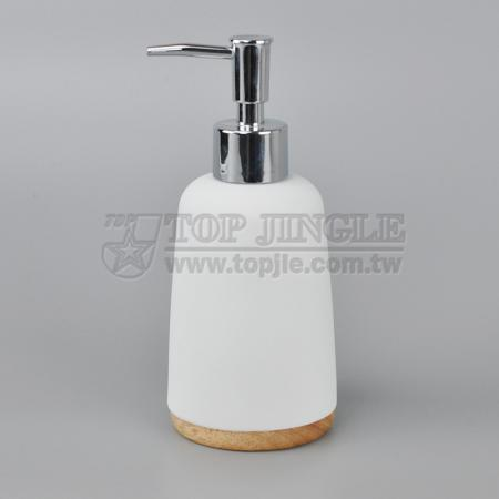 Solid Wood Soap Dispenser