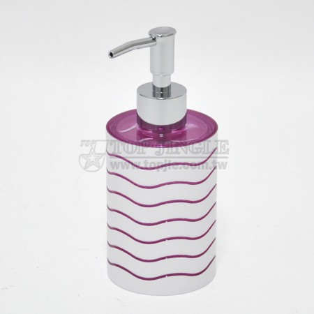 Weave Design Soap Dispenser