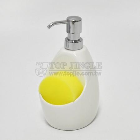 Дозатор мыла с губкой