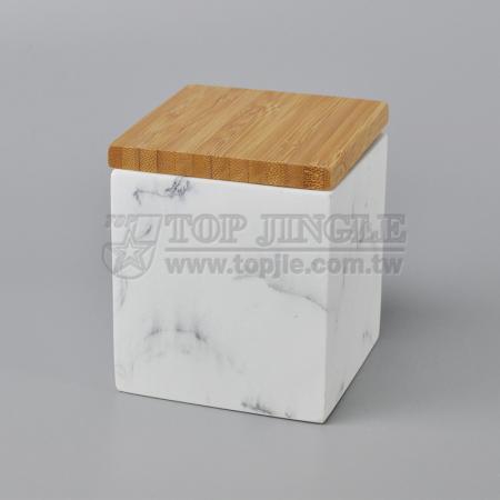 Square Shape Spice Jar
