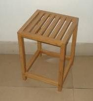 Bamboo Single Stool