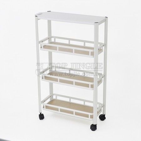4 Tier Basket Trolley