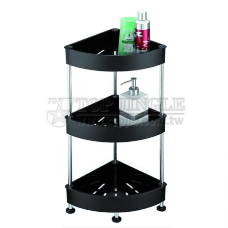 3 Tier Fan Shape Trolley