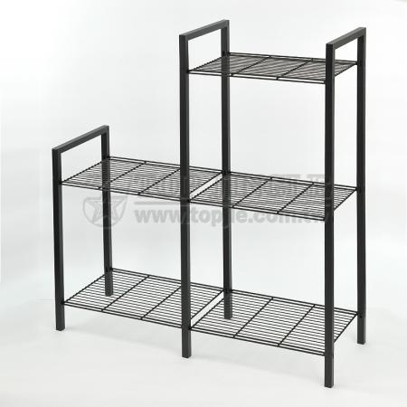 Asymmetrical Shoe Rack