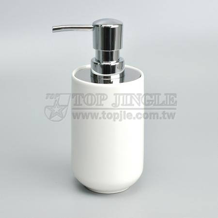 Cone Ceramic Soap Dispenser