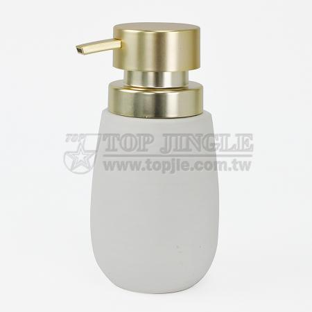 Ceramic Cylinder Soap Dispenser
