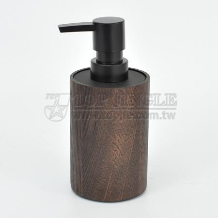 Дозатор мыла в форме цилиндра из маньчжурского ясеня