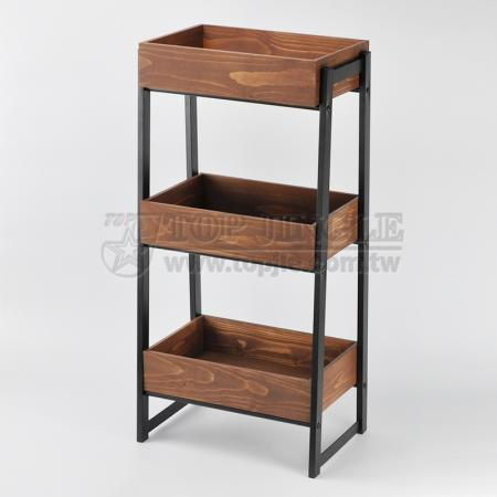 3-Tier Storage Rack With Tray
