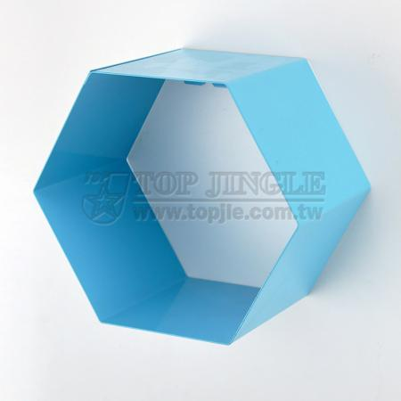 Wall Mounted Honeycomb Shape Storage Shelf