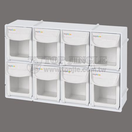 8-Grid Storage Shelf