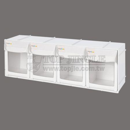 4-Grid Storage Shelf
