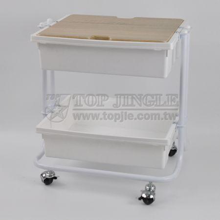 2-Tier Storage Trolley