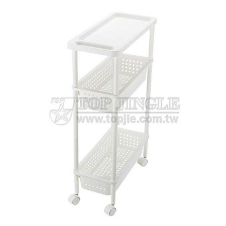 3-Tiers Shelf Trolley