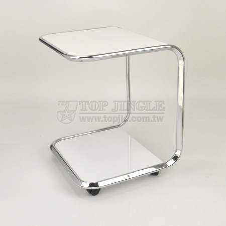 Metal Tube Table Cart