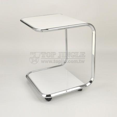 Металлическая тележка для стола