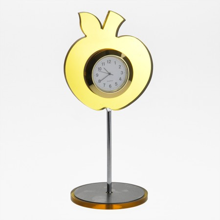 Настольные часы в форме яблока