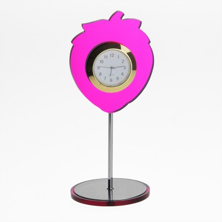 Strawberry Shaped Tabletop Clock
