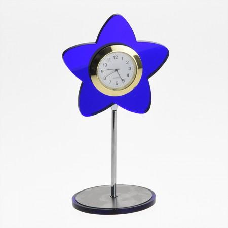 Настольные часы в форме звезды