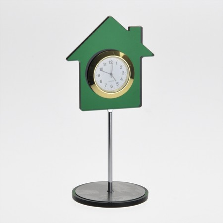 Настольные часы в форме дома