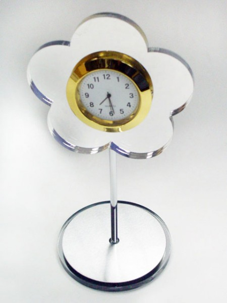 Flower Shaped Desk Clock