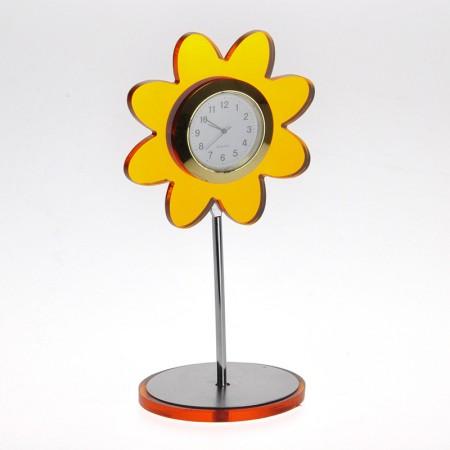 Sunflower Shaped Desk Clock
