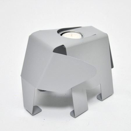 코끼리 모양 Tealight 홀더