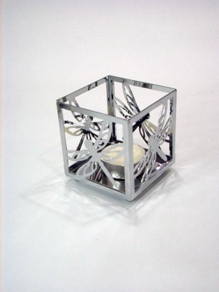 Porta tealight modello libellula