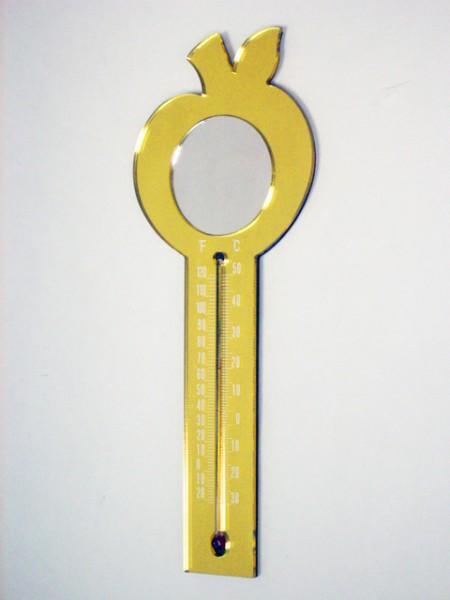 Elma Şeklinde Termometre Mıknatısı