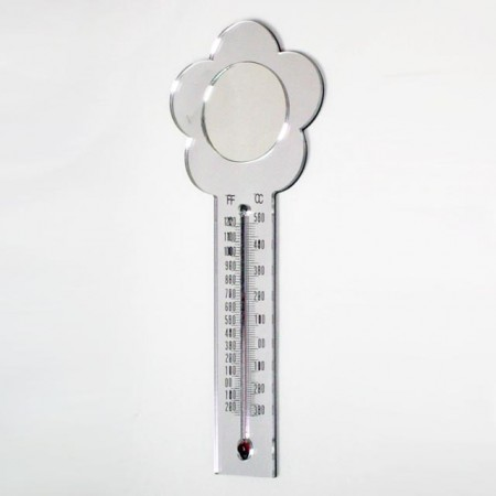 Flower Shaped Thermometer Magnet