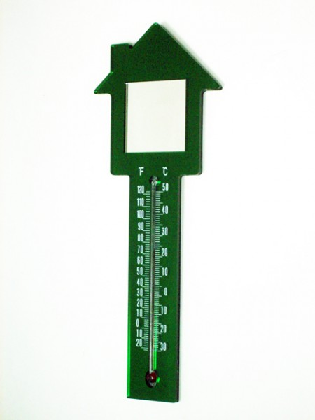 House Shaped Thermometer Magnet
