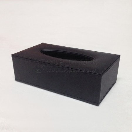 Black Rectangle Tissue Holder