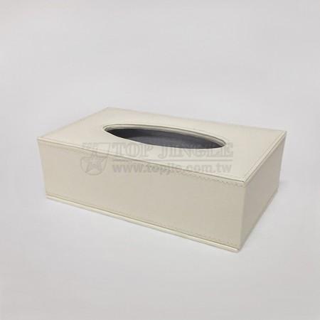 Creme Rectangle Tissue Holder