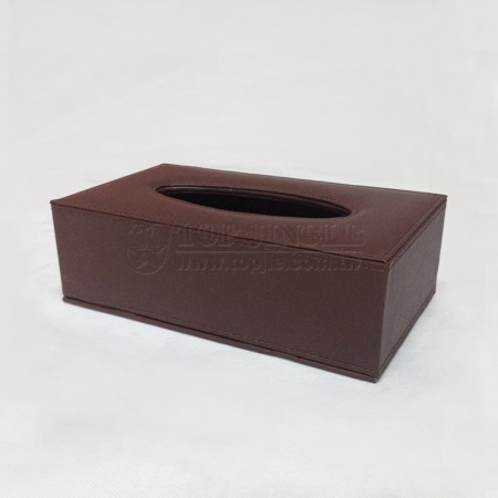 Dark Brown Tissue Holder